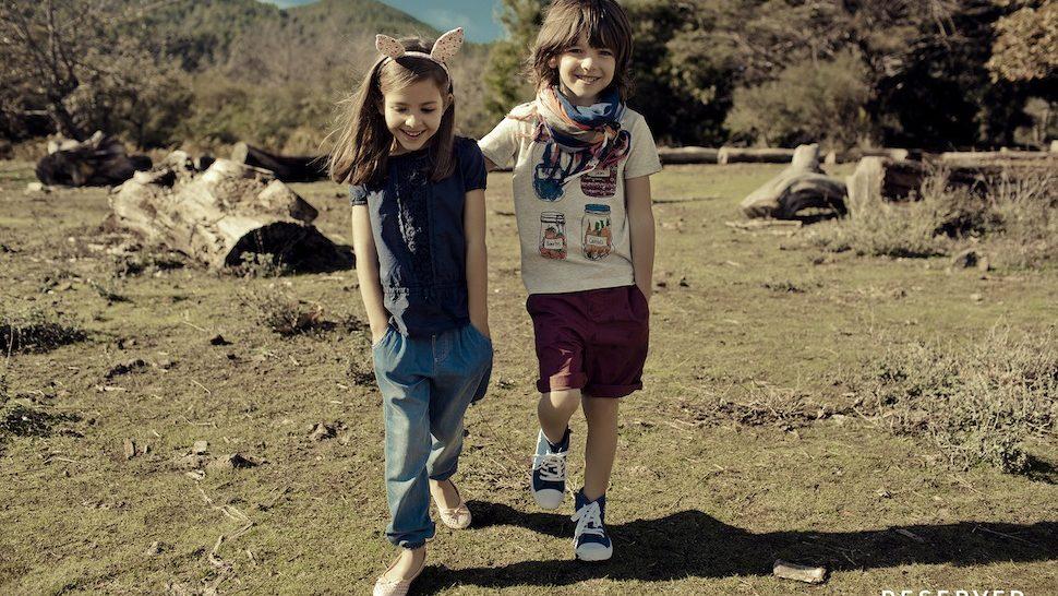 Reserved Kids kolekcija u duhu prirode