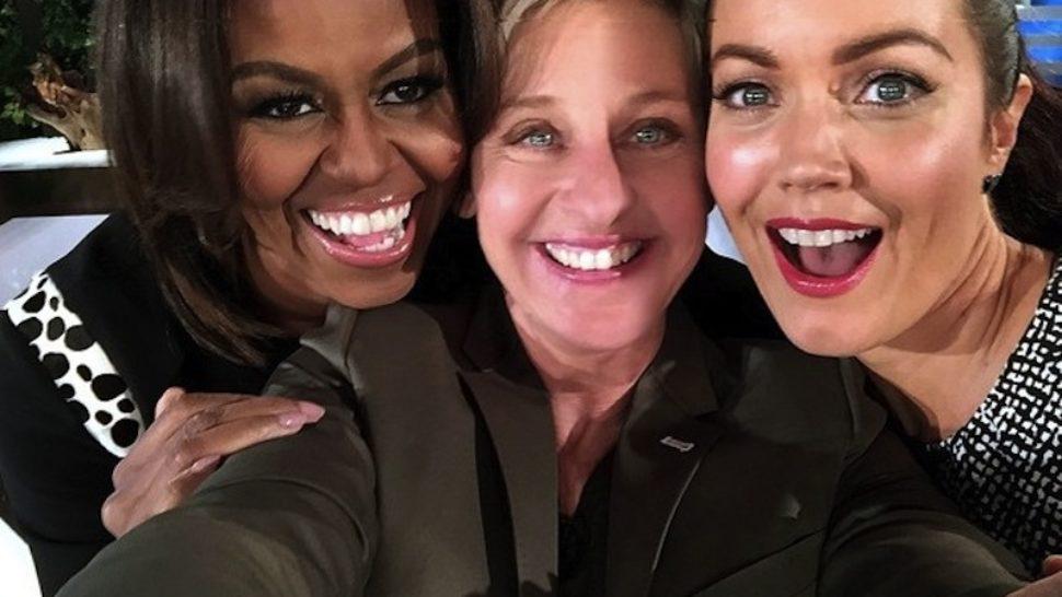 Michelle Obama zaplesala kod Ellen DeGeneres