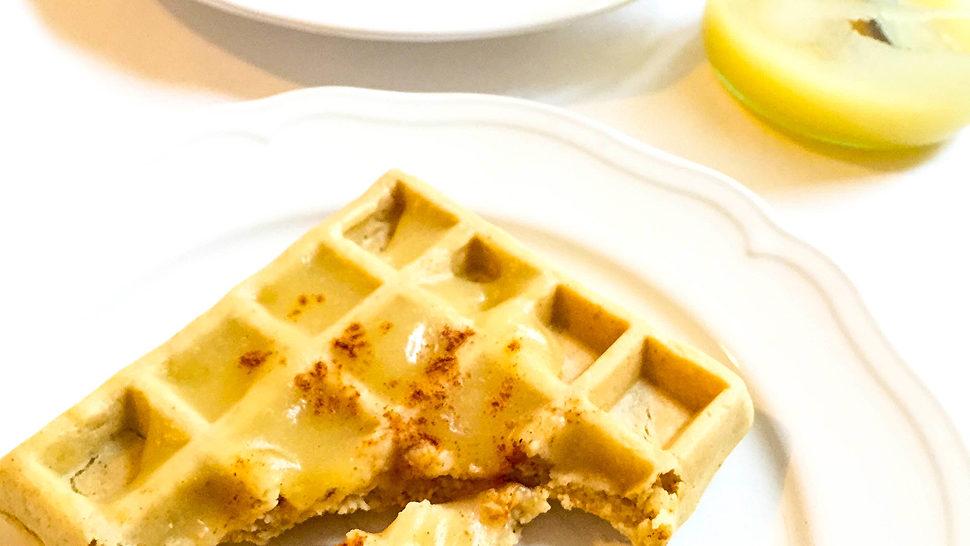 Waffles bez brašna s jabukama i cimetom