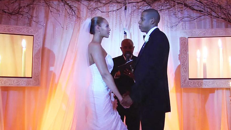 Jay-Z na Instagramu objavio isječak vjenčanja s Beyoncé