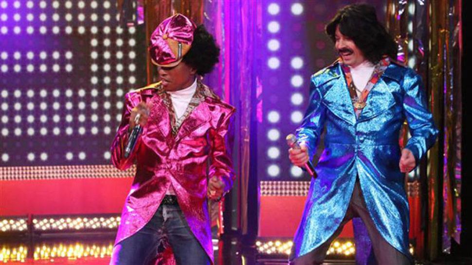 'Funky' duet Jimmyja Fallona i Pharella