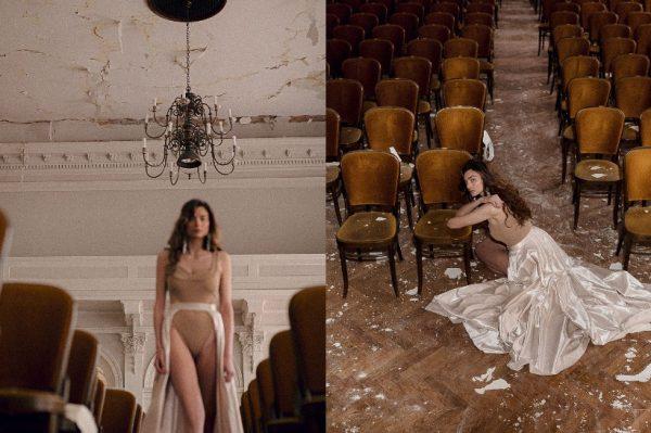 U potresu oštećenom Hrvatskom glazbenom zavodu, snimljena je divna fotografska priča koja budi optimizam