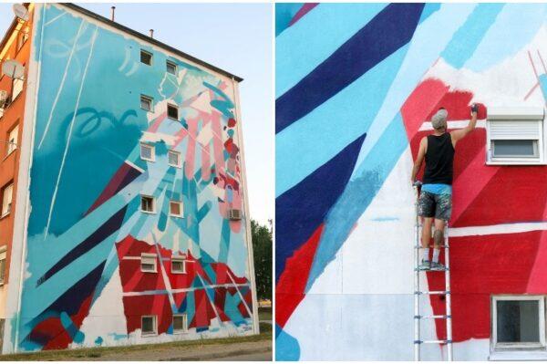 Journal man: Chez 186 autor je novog predivnog murala u Sisku