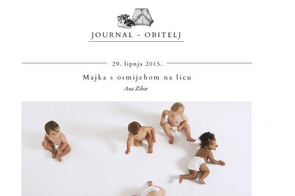 Predstavljamo blog Journal Obitelj