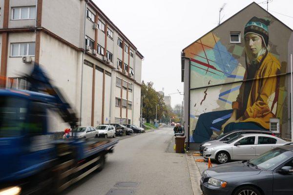 Lonac i Chez 186 napravili su novi mural u Koranskoj ulici u Zagrebu