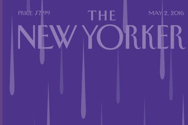 Ljubičasta posveta Princeu na naslovnici New Yorkera