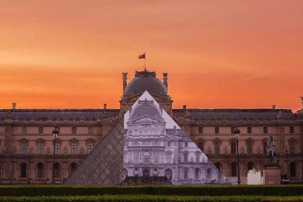 Impresivna instalacija poznatog street art umjetnika u Louvreu