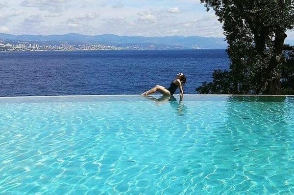 Najljepši bazen s pogledom koji ostavlja bez daha nalazi se u Opatiji u Grand Hotelu Adriatic