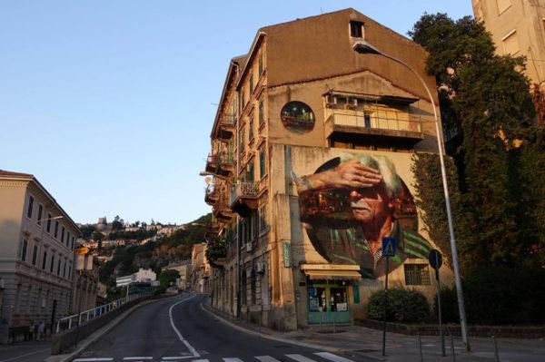 Fantastično realističan mural osvanuo u Rijeci