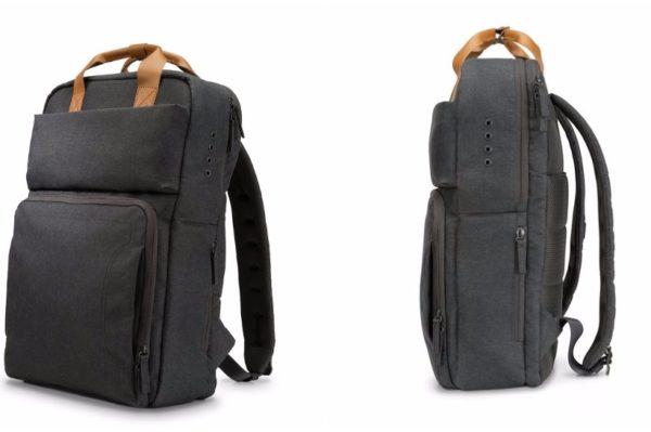 Minimalistički ruksak s kojim možete napuniti bateriju laptopa i mobitela