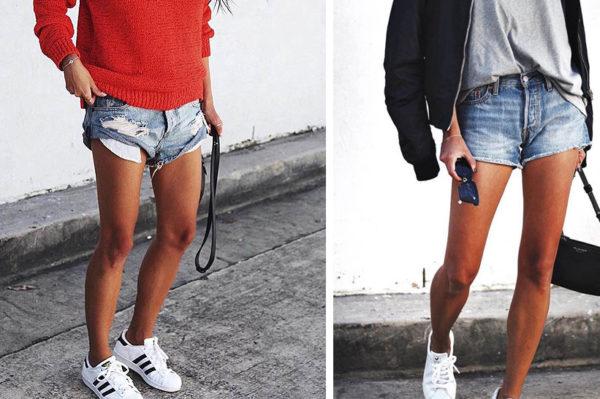 Brzinski outfit za svaki dan: kratke hlače i tenisice