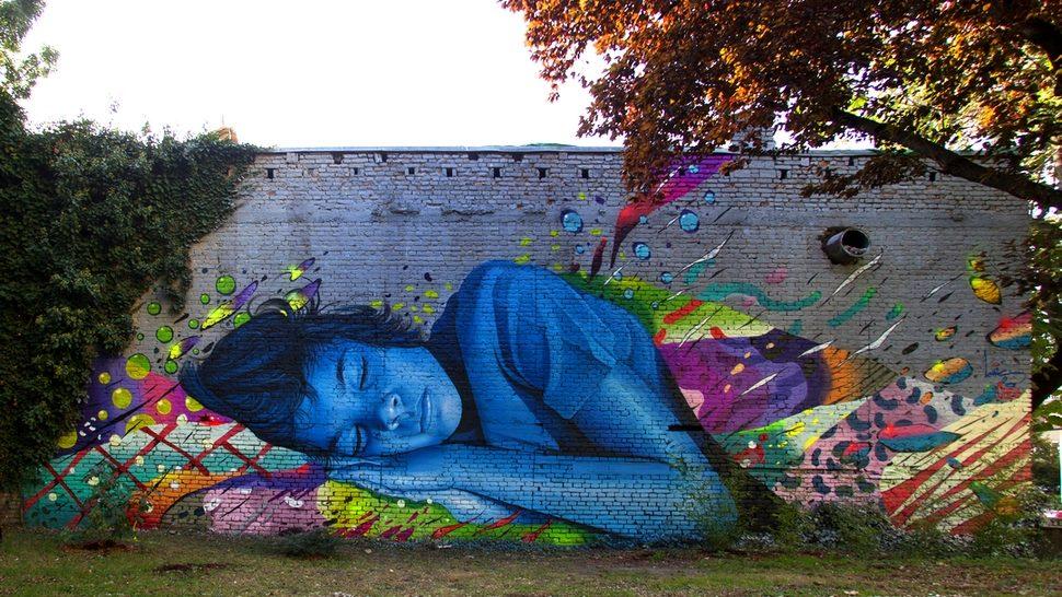 Novi impresivan mural u Zagrebu