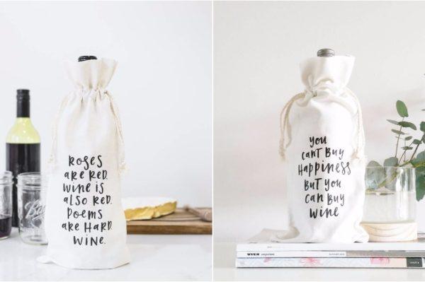 Zabavne vrećice za vino