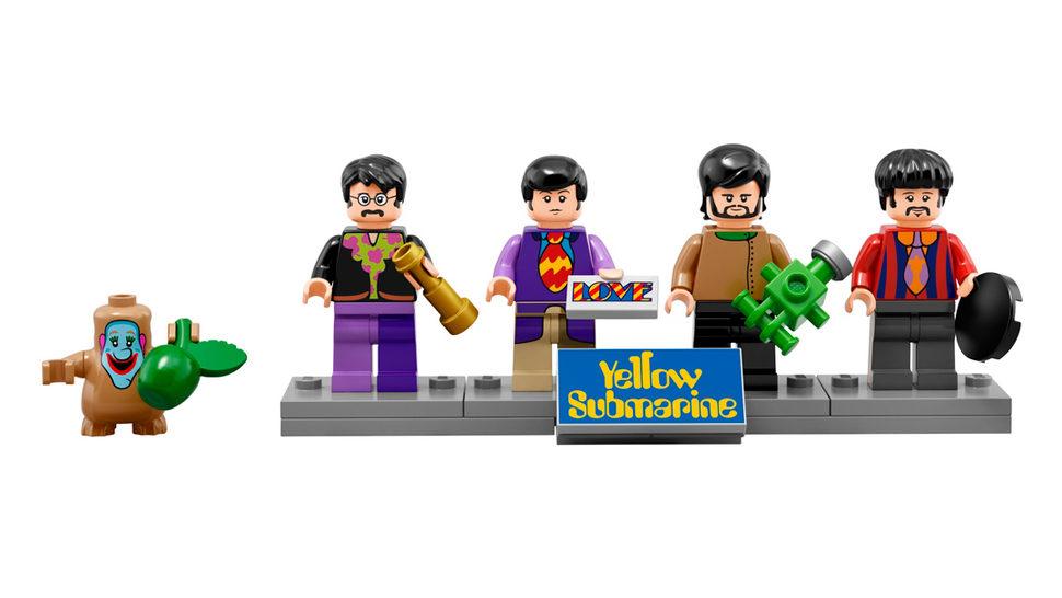 Beatlesi pretvoreni u Lego likove