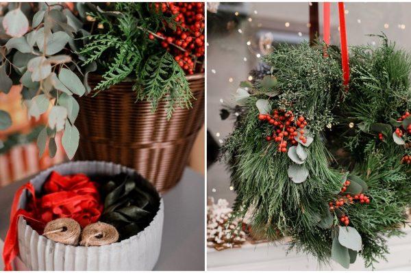 Last minute ideje za izradu savršenog božićnog vijenca