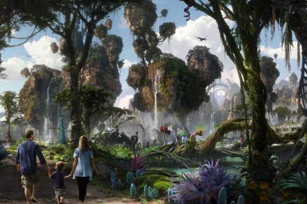 Pogled na Avatar tematski park