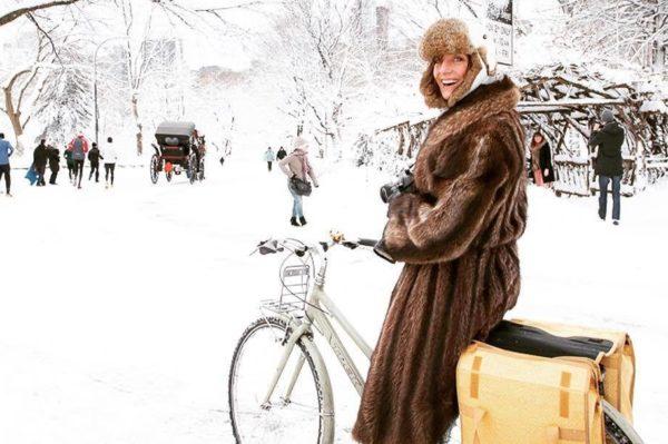 Dan zimske vožnje biciklom na posao