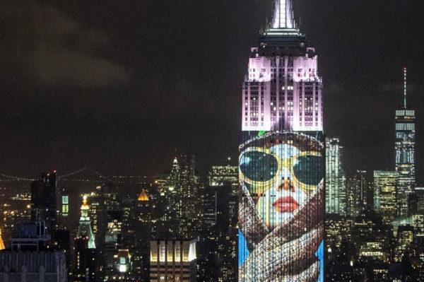 Harper's Bazaar naslovnice na Empire State Buildingu