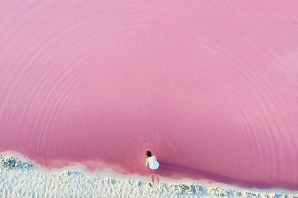 Želimo posjetiti ružičastu lagunu u Meksiku