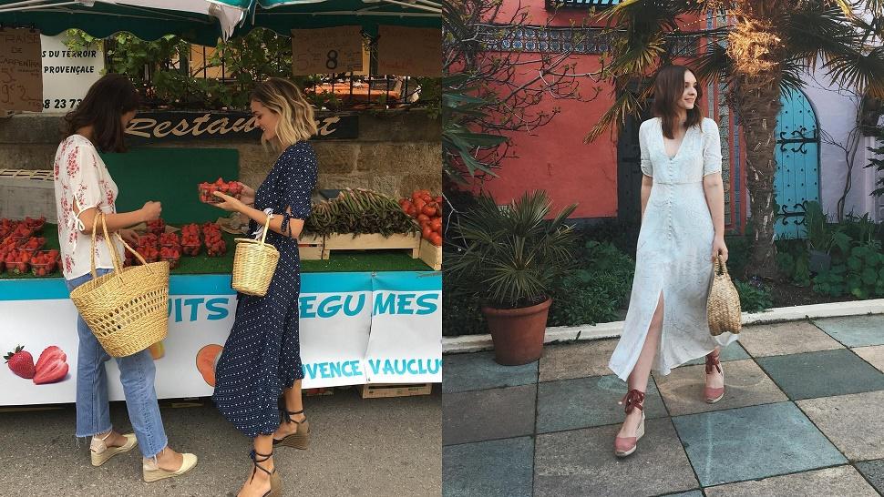Ultimativna odjevna kombinacija za ljeto 2017. s midi haljinom