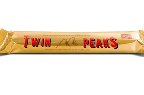 Twin Peaks čokolada s neobičnim twistom
