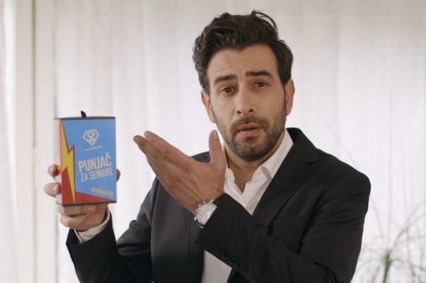 Janko Popović Volarić u kampanji Superseniori