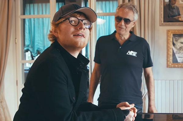 Ed Sheeran snimio još jedan duet za pjesmu Perfect – ovog puta s Bocellijem