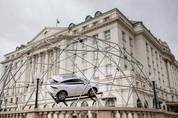 Na terasi hotela Esplanade predstavljen novi Jaguar