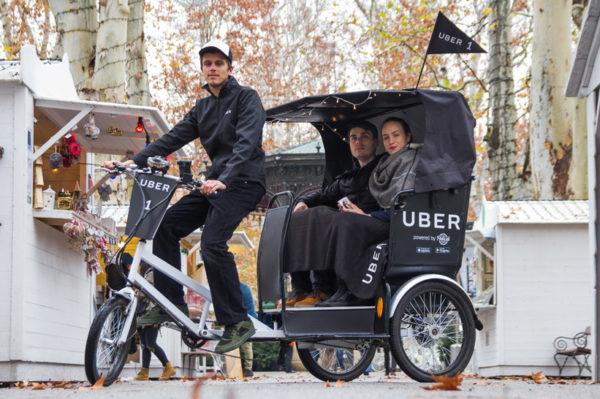 Uber ovog Adventa korisnicima nudi vožnju električnim rikšama