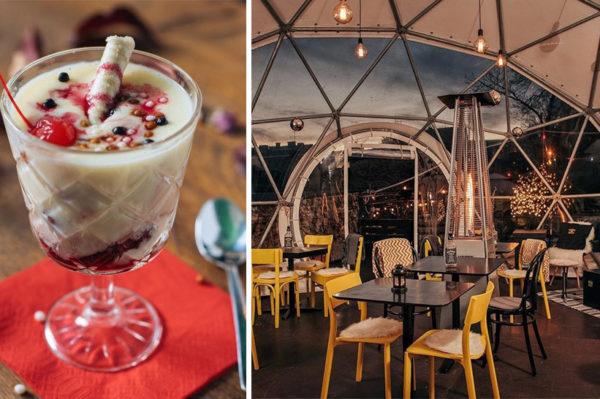Na zimskoj terasi Swankyja pije se prefina vruća čokolada