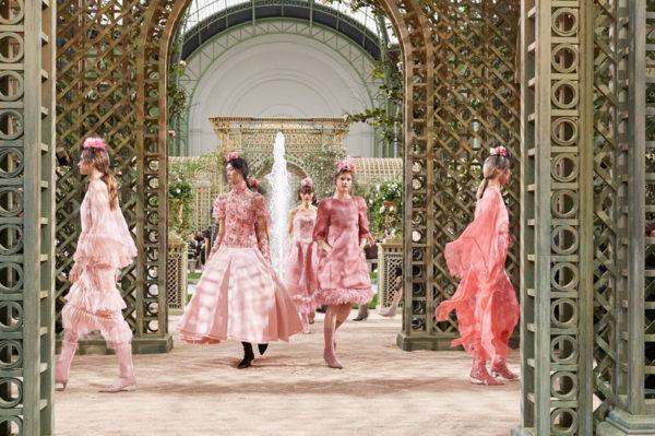 Chanel haute couture kolekcija u pastelnim bojama