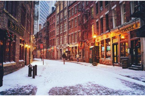 Instagram razglednice: snijeg u New Yorku