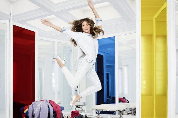 Iza kulisa snimanja treće kampanje Heidi Klum za Lidl