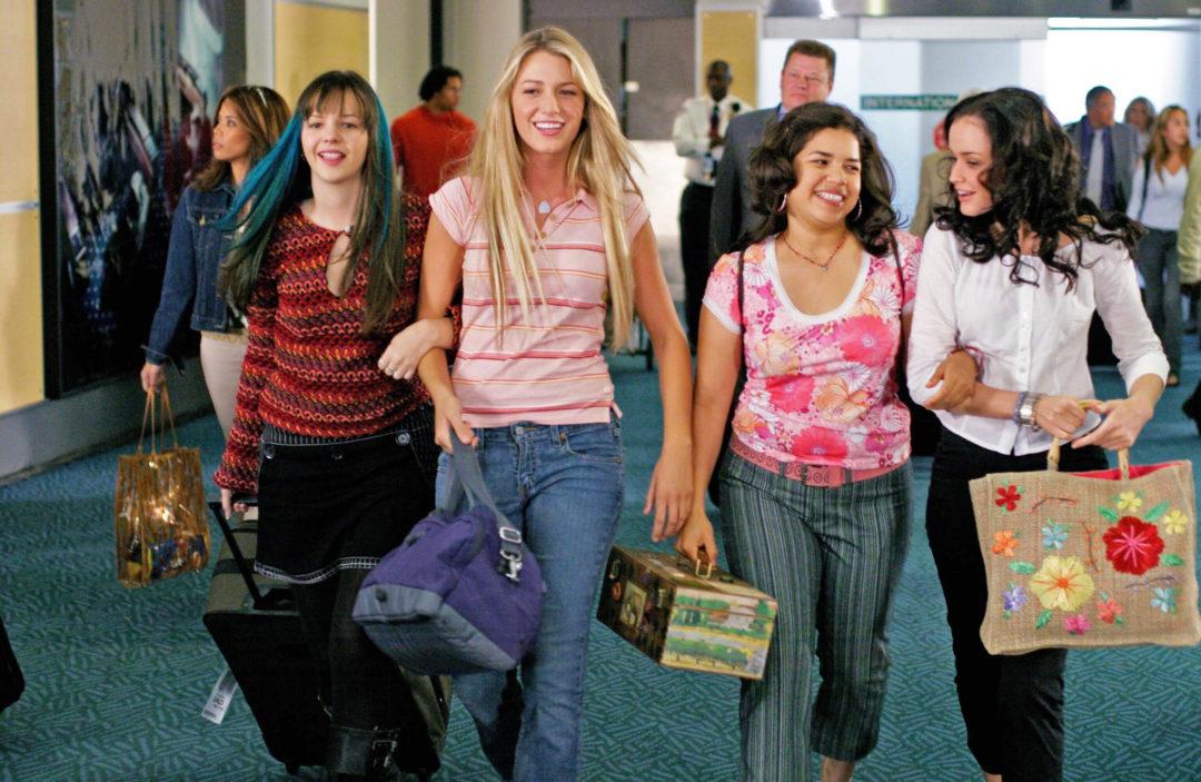 The Sisterhood of the Traveling Pants 1 & 2 DVD box set, starring Alexis Bledel as Lena Kaligaris, Amber Tamblyn as Tabitha Tibby Tomko-Rollins, America Ferrera as Carmen Lowell and Blake Lively as Bridget Vreeland - dvdbash.com
