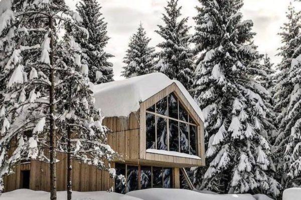 Kuća za odmor u Gorskom kotaru u kojoj bi proveli cijelu zimu