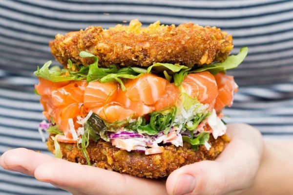 Ovo bi bilo super probati: sushi burger