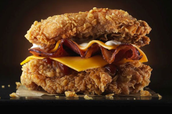 Double Down – nova ideja burgera dolazi iz KFC-a