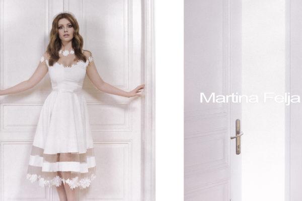 Glumica Tara Rosandić u bridal kampanji Martine Felje