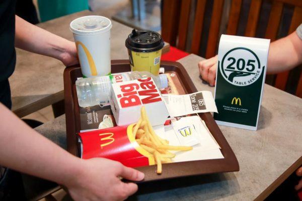 McDonald's uvodi posluživanje za stolom – naručite, sjednite i uživajte