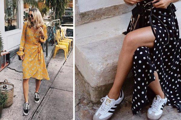 Još jedno ljeto dokazuje da su haljina i tenisice najbolji spoj