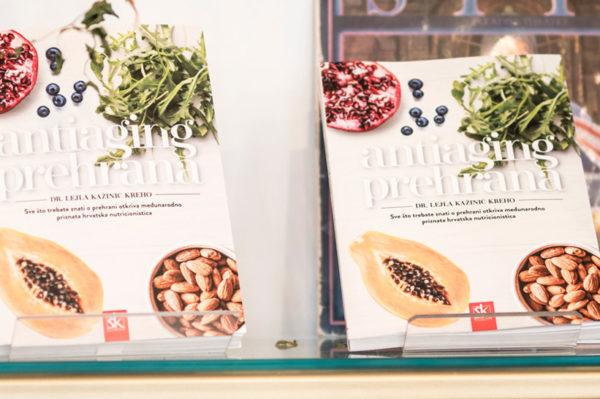 """Knjiga """"Antiaging prehrana"""" jučer je predstavljena u Zagrebu"""
