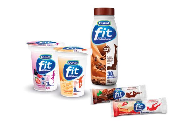 Stigli novi Dukat Fit proizvodi za ljubitelje zdravog načina života