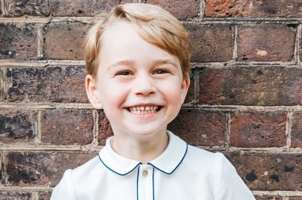 Princ George danas slavi peti rođendan i dobio je novi portret