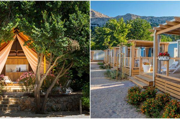 Glamping i kamping destinacije za potpuno drugačiji  odmor na Jadranu