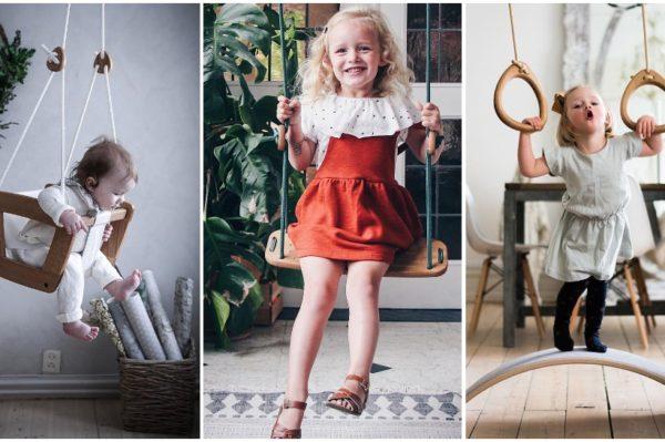 Lillagunga – skandinavski dječji brend koji stvara čarobne ljuljačke