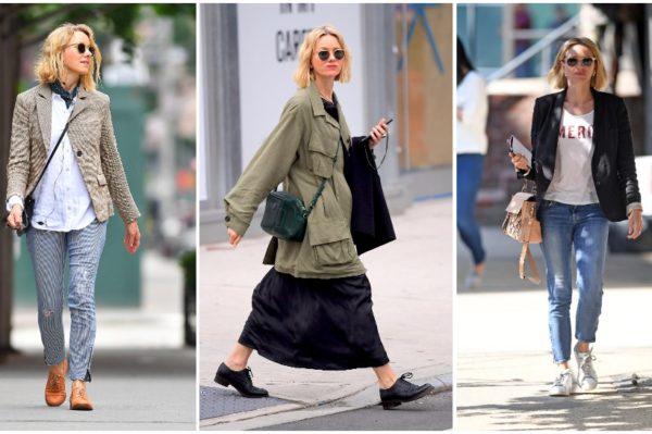 Naomi Watts ima recept za odličan jesenski stil