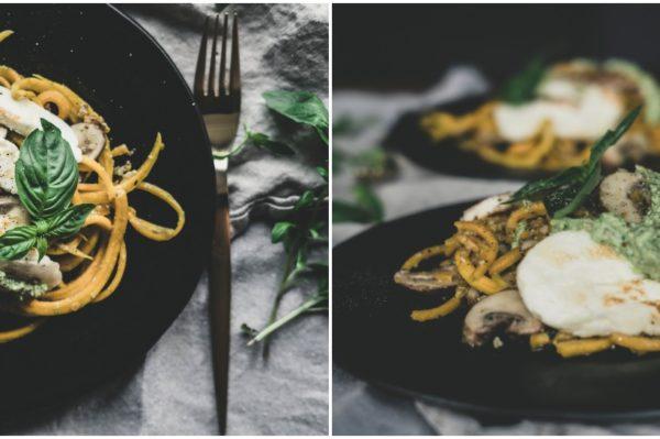 Špageti od tikve s pestom su prava jesenska poslastica