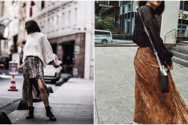 Snake print suknja – još jedan komad koji želimo dodati u ormar