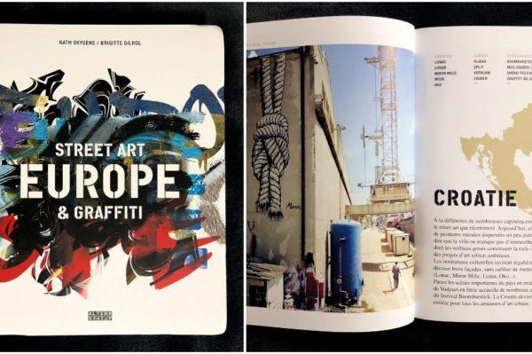 Čak 5 hrvatskih umjetnika u velikoj knjizi o europskom street artu