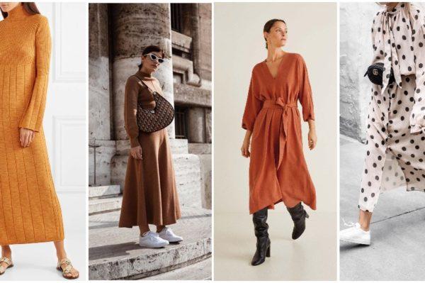 Haljine dugih rukava su rješenje za sve jesenske modne nedoumice
